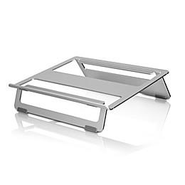 Aluratek Universal Foldable Laptop Stand in Aluminum
