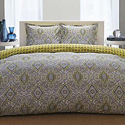 City Scene Milan 3-Piece Reversible Comforter Set