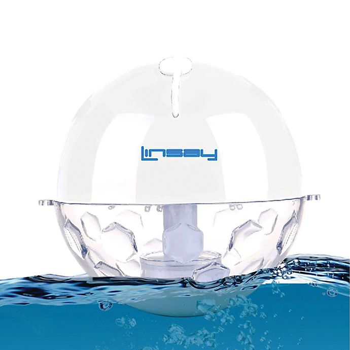Alternate image 1 for Linsay® Pool Party Waterproof Bluetooth® Speaker in White