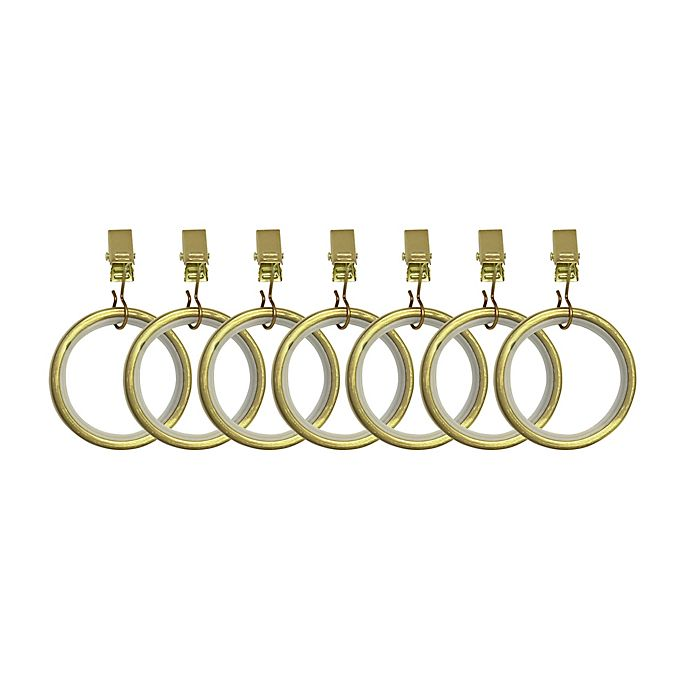 Umbra 174 Cappa Clip Rings In New Brass Bed Bath Amp Beyond