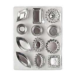 Ateco 72-Piece Tartlet Molds in Tin