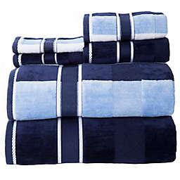 Nottingham Home Oakville Velour Bath Towels (Set of 6)