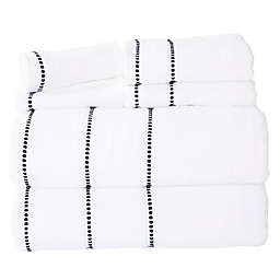 Nottingham Home 6-Piece Quick Dry Zero Twist Towel Set