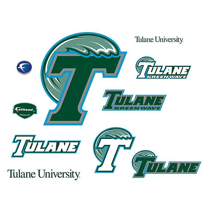 Alternate image 1 for Tulane University Logo Junior Fatheads