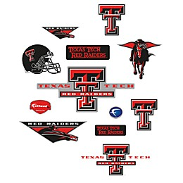 Texas Tech University Logo Junior Fatheads