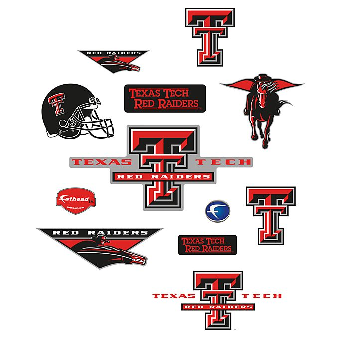 Alternate image 1 for Texas Tech University Logo Junior Fatheads