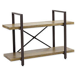 Danya B.™ Two-Level Rustic Shelving Unit