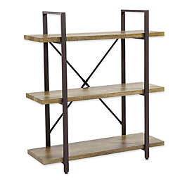 Danya B.™ Three-Level Rustic Shelving Unit