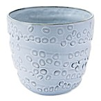 Zuo® Medium Circles Planter in Off-White