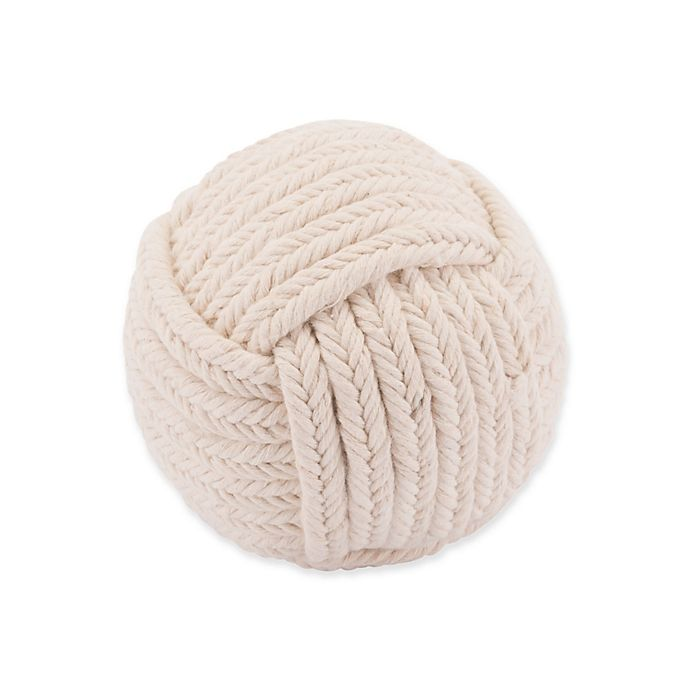 Alternate image 1 for Zuo® Tribal Ball Knot in White
