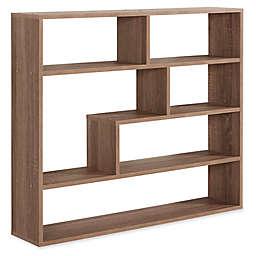 Danya B™ Wood Large Rectangular Shelf Unit in Weathered Oak