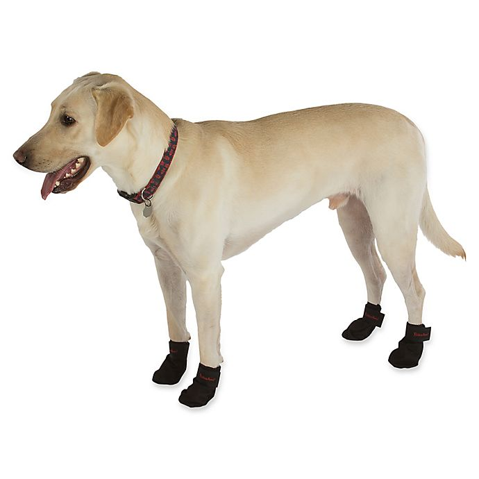 Alternate image 1 for Ultra Paws Snow and Go Dog Boots in Black