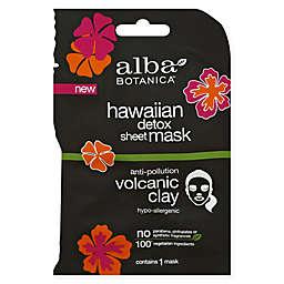 Alba Botanica™ Hawaiian Detox Anti-Pollution Volcanic Clay Sheet Mask