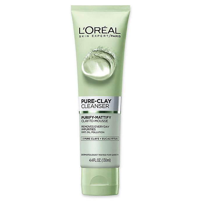 Alternate image 1 for L'Oreal® Paris 4.4 fl. oz. Skin Expert Purify-Mattify Pure-Clay Cleanser