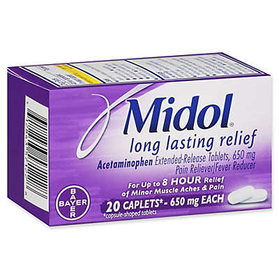 Midol® 20-Count Long Lasting Relief Caplets