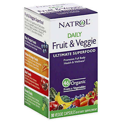 Natrol® 90-Count Daily Fruit and Veggie Capsules