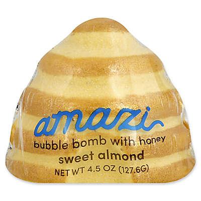 Amazi 4.5 oz. Bubble Bomb with Epsom Salt in Honey Sweet Almond