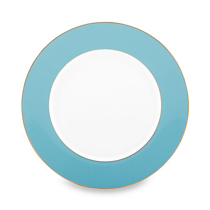 Alternate image 1 for Marchesa by Lenox® Spring Lark Sky Blue 11 3/4-Inch Charger
