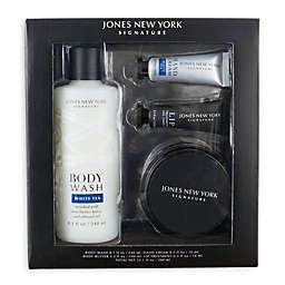 Jones New York 4-Piece Signature Classic Spa Gift Set in Black