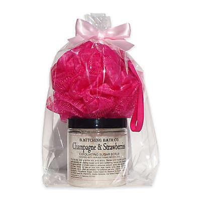 B. Witching Bath Co.™ 8 oz. Champagne & Strawberries Sugar Scrub