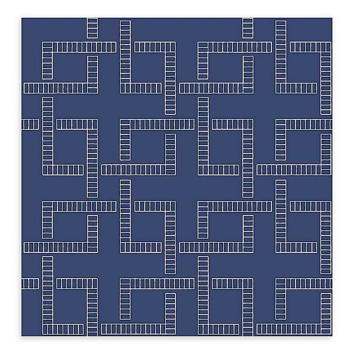 Alternate image 1 for Brewster Home Theory Geometric Wallpaper in Indigo