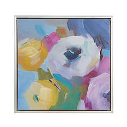 Madison Park Nosegay Bouquet Embellished Canvas Wall Art