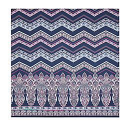 Intelligent Design 90-Inch Square Adley Wall Tapestry in Purple