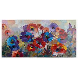 """Flower Garden"" 63-Inch x 31.5-Inch Canvas Wall Art"
