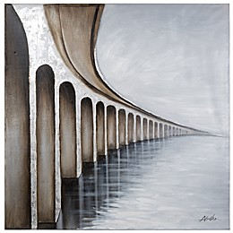 """Bridge to Nowhere"" Canvas Wall Art"