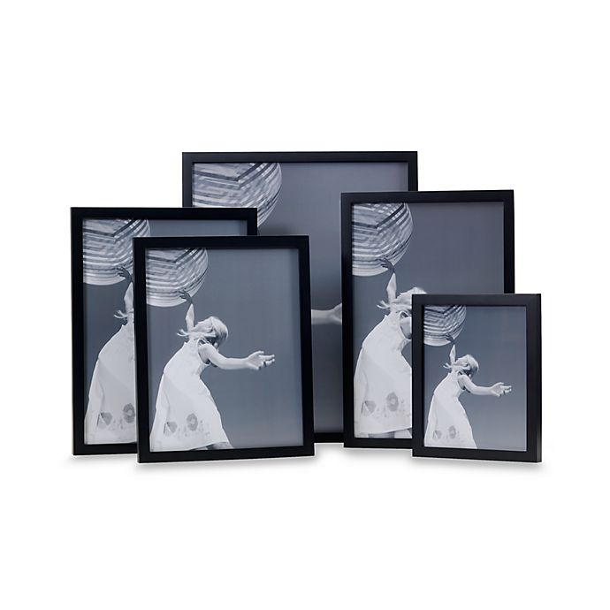 Black Gallery Wall 11 X 17 Photo Frame Bed Bath And Beyond Canada