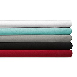 Spectrum Home Textiles 150-Thread-Count Organic Cotton Jersey Knit Sheet Set