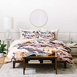 Deny Designs Amy Sia Marbled Terrain Duvet Cover Set