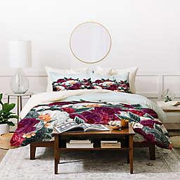 Deny Designs Iveta Abolina English Rose Duvet Cover Set