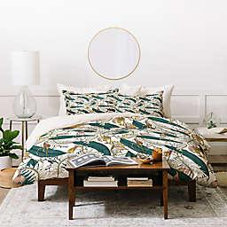 Deny Designs Holli Zollinger Orchid Garden 3-Piece Duvet Cover Set