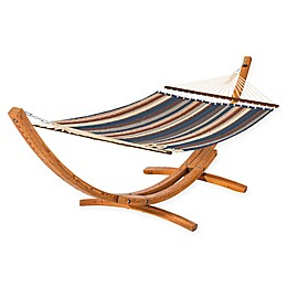 Classic Accessories Montlake 13-Feet 6-Inch Quilted Hammock with Wood Stand