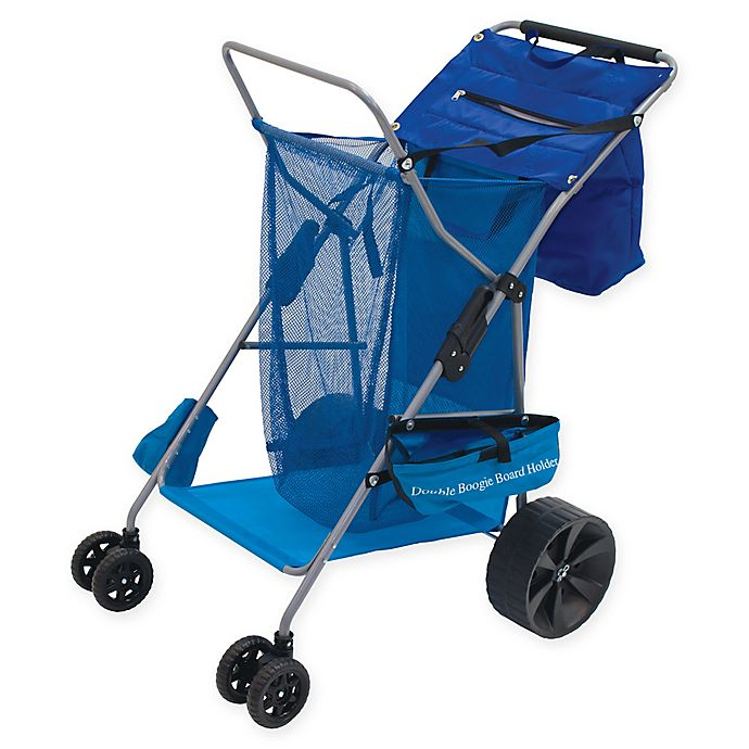 Alternate image 1 for Rio Beach Deluxe Beach Caddy in Blue