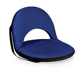 Picnic Time® Oniva™ Floor Beach Chair in Navy