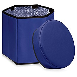 Picnic Time® Oniva™ Bongo Cooler Seat in Navy