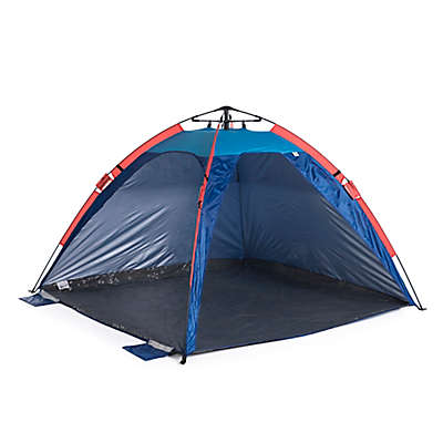 Slumbertrek Auto Ezee Sun Shelter in Blue