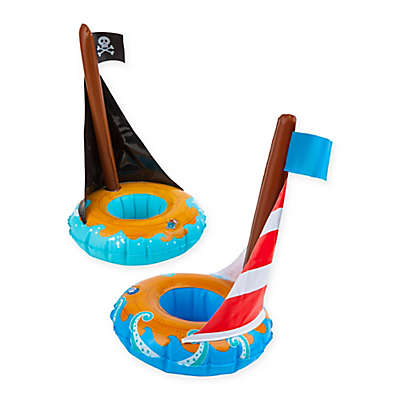 BigMouth Inc. Sail Boat Drink Float (Set of 2)