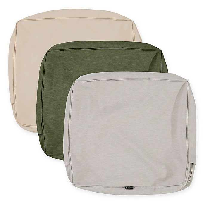 Alternate image 1 for Classic Accessories® Montlake™ 23-Inch x 20-Inch Lounge Back Cushion Slip Cover