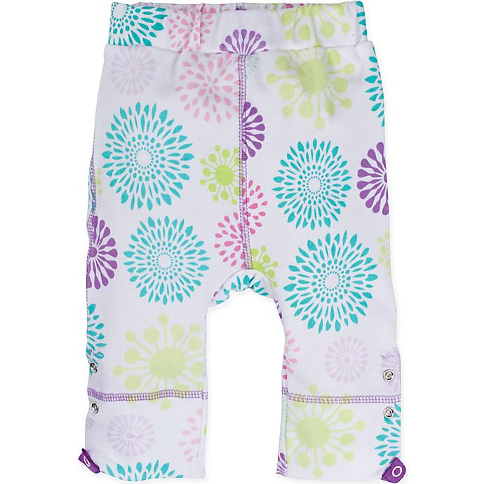 Alternate image 1 for Posheez Size 18M Snap'n Grow Adjustable/Expandable Pant in Colorful Burst