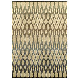 Amaya Rugs Bentley Diamond Area Rug in Ivory