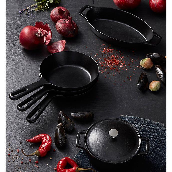 Alternate image 1 for Artisanal Kitchen Supply® Pre-Seasoned Cast Iron Minis