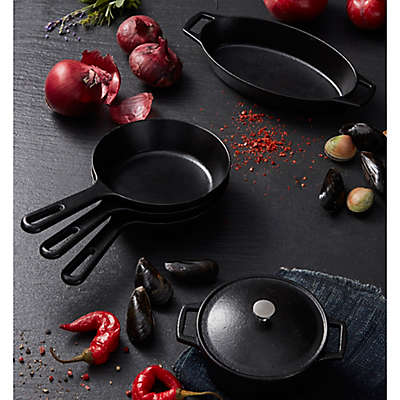 Artisanal Kitchen Supply® Pre-Seasoned Mini Open Stock Cookware