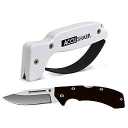 AccuSharp® Knife Sharpener and G10 Sport Knife Combo Pack