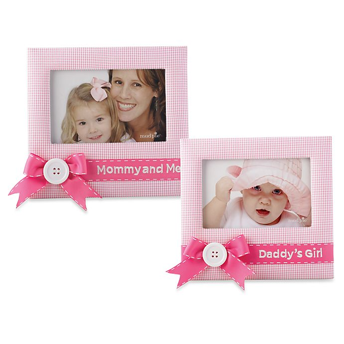 Mud Pie Little Princess Daddys Girl And Mommy And Me Pink Gingham