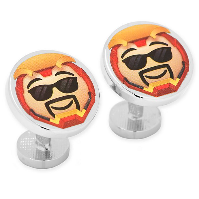 Alternate image 1 for Marvel® Iron Man Emoji Cufflinks