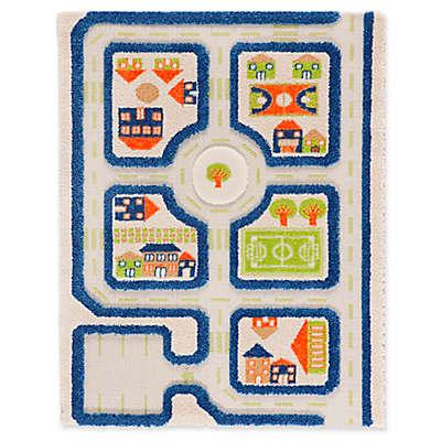 IVI Traffic 3-Dimensional Play Rug
