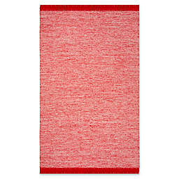 Safavieh Montauk 5' x 8' Aria Rug in Red
